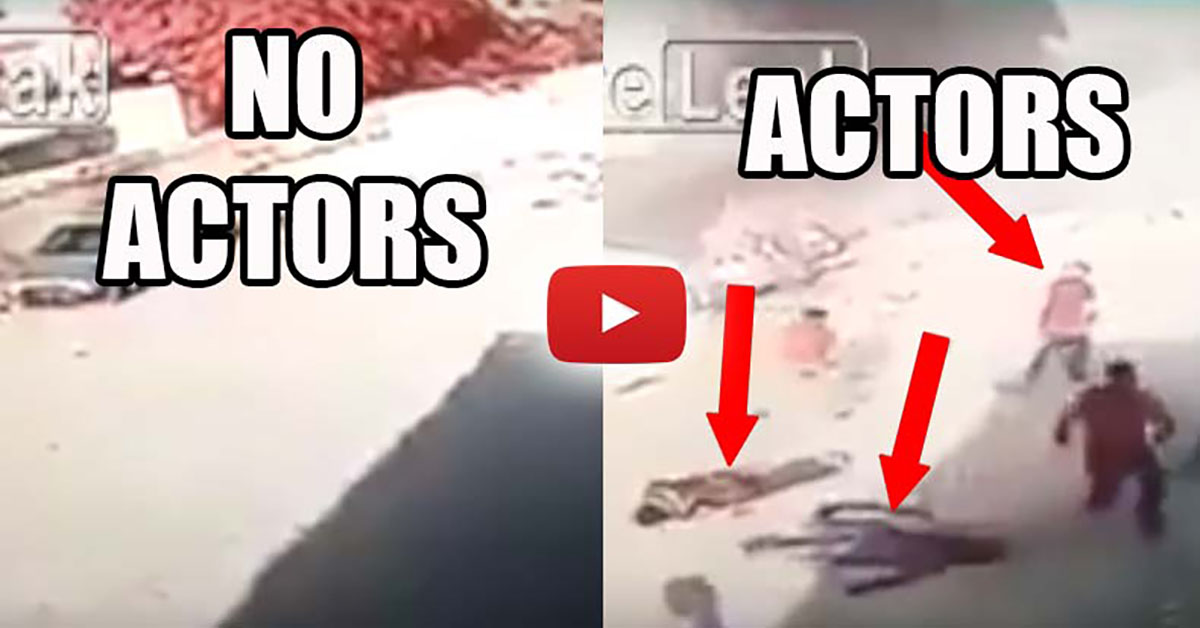Video Exposes Crisis Actors Faking an ISIS Car Bombing Media Reports it as REAL – Awareness Act