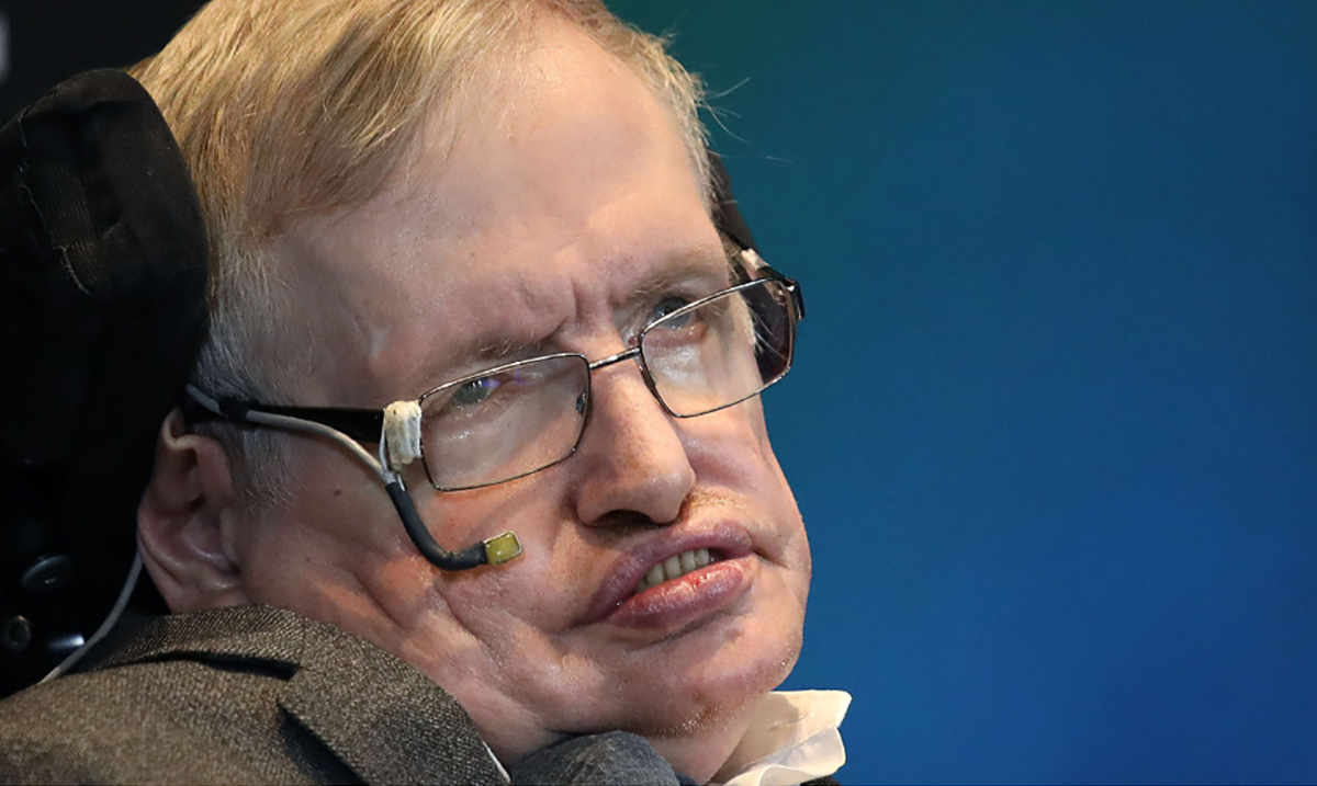 Stephen Hawking's Beautiful Message For Anyone With Depression