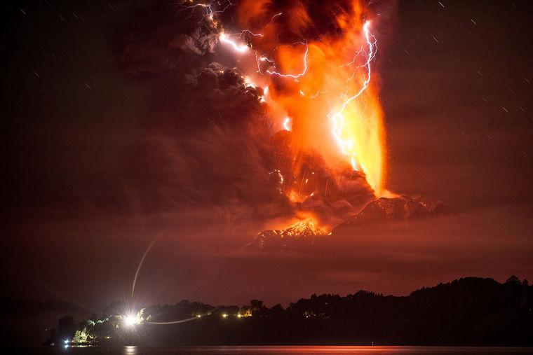 eruption, volcanic eruption, Yellowstone