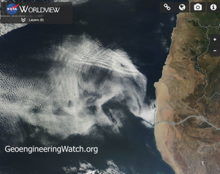 Satellite Imagery Reveals Shocking Proof of Climate Engineering