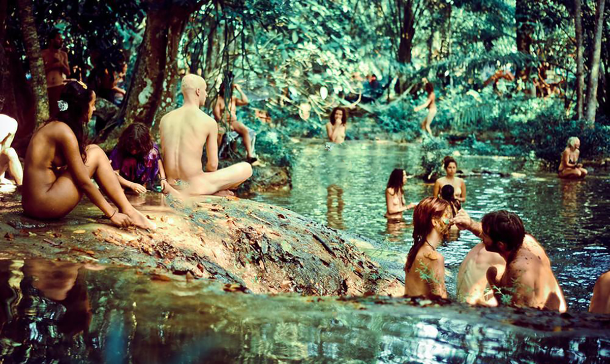 20+ Pictures That Show What Goes On At Modern Day Rainbow Gatherings