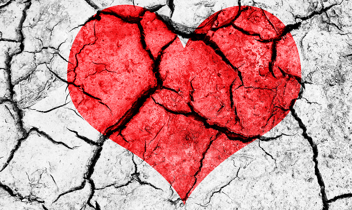 10 Ways Going Through Heartbreak Can Actually Break You