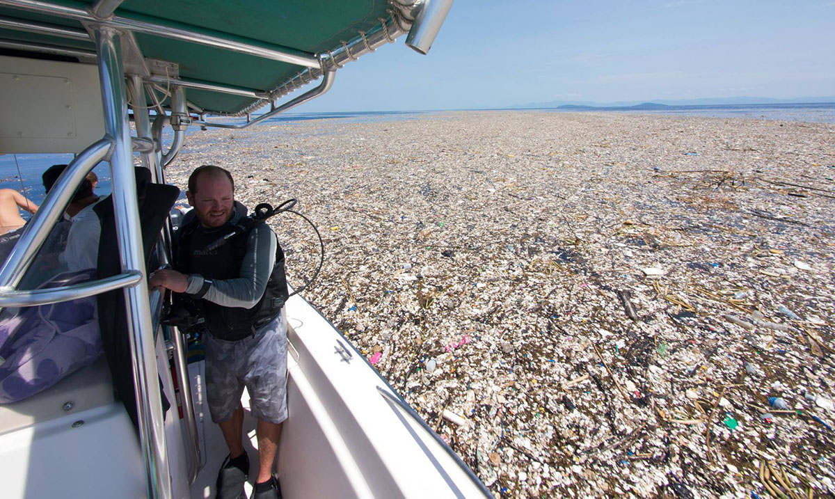 Sea of Trash: Shocking Photos of Plastic and Trash Captured in the Caribbean