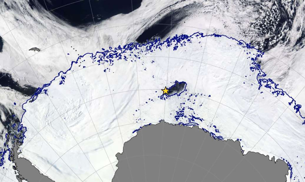 An Enormous Hole Has Opened Up in Antarctica and Scientists Don't Know Why