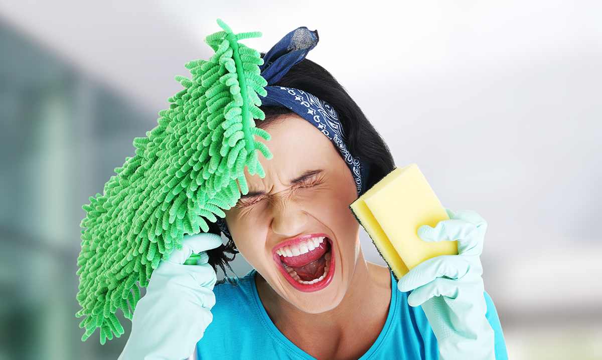 Recent Study Proves Husbands Create 7 Hours of Extra Housework A Week