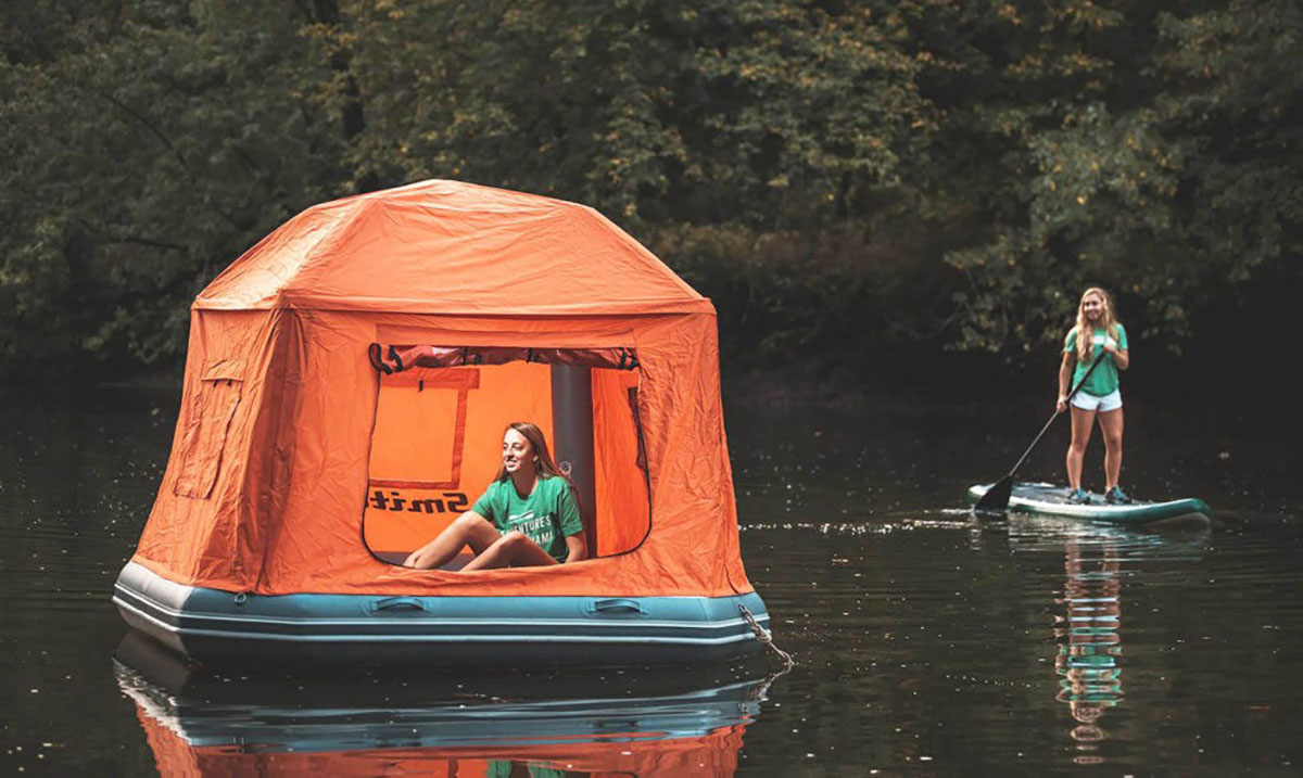 The World's First Floating Tent Is Here and We Are In Love