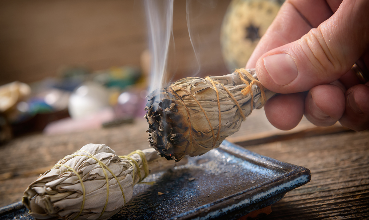 Smudging Destroys 'Killer Germs', According to a Recent Study