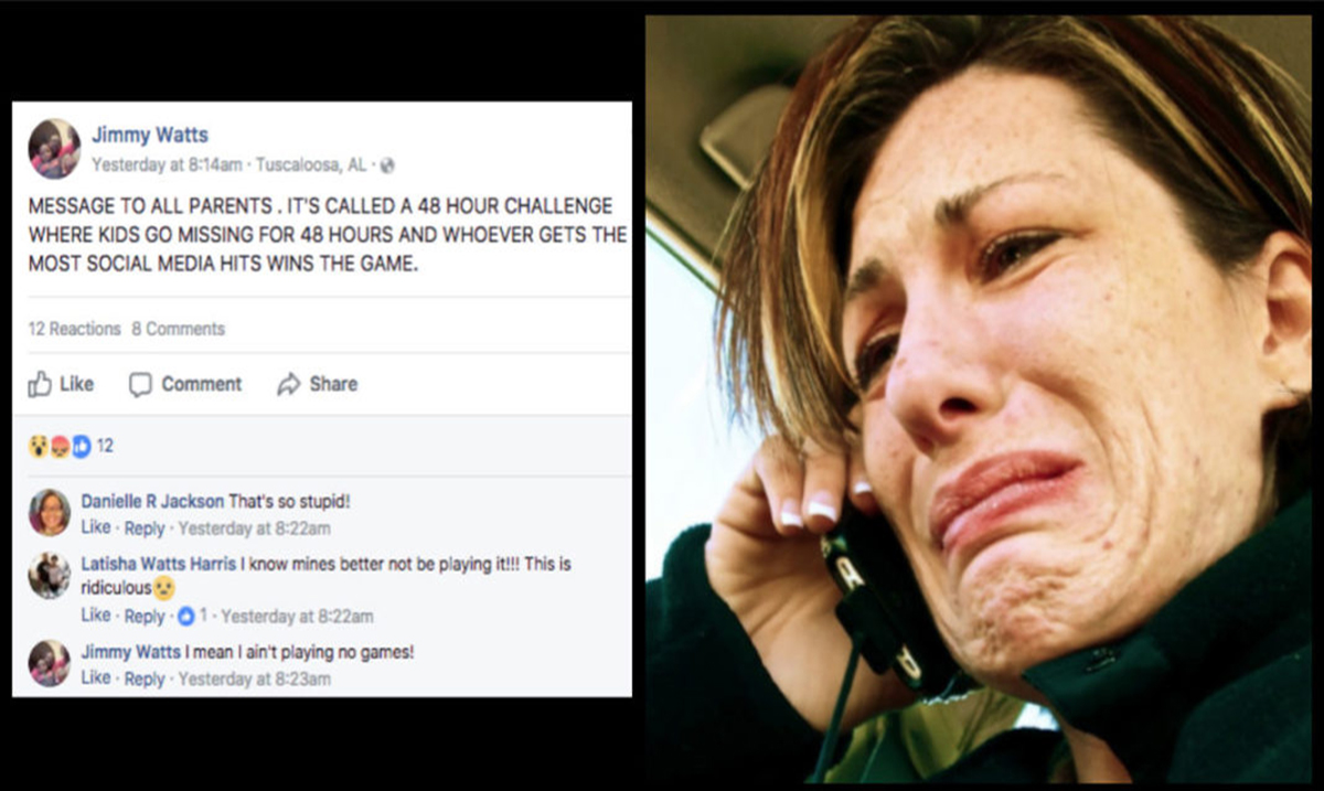 Teenagers Go Missing After Playing This Disturbing Facebook Game – the 48-Hour Challenge