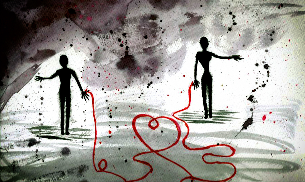 The Invisible Karmic Thread Of Two People Who Are Meant To Be Together