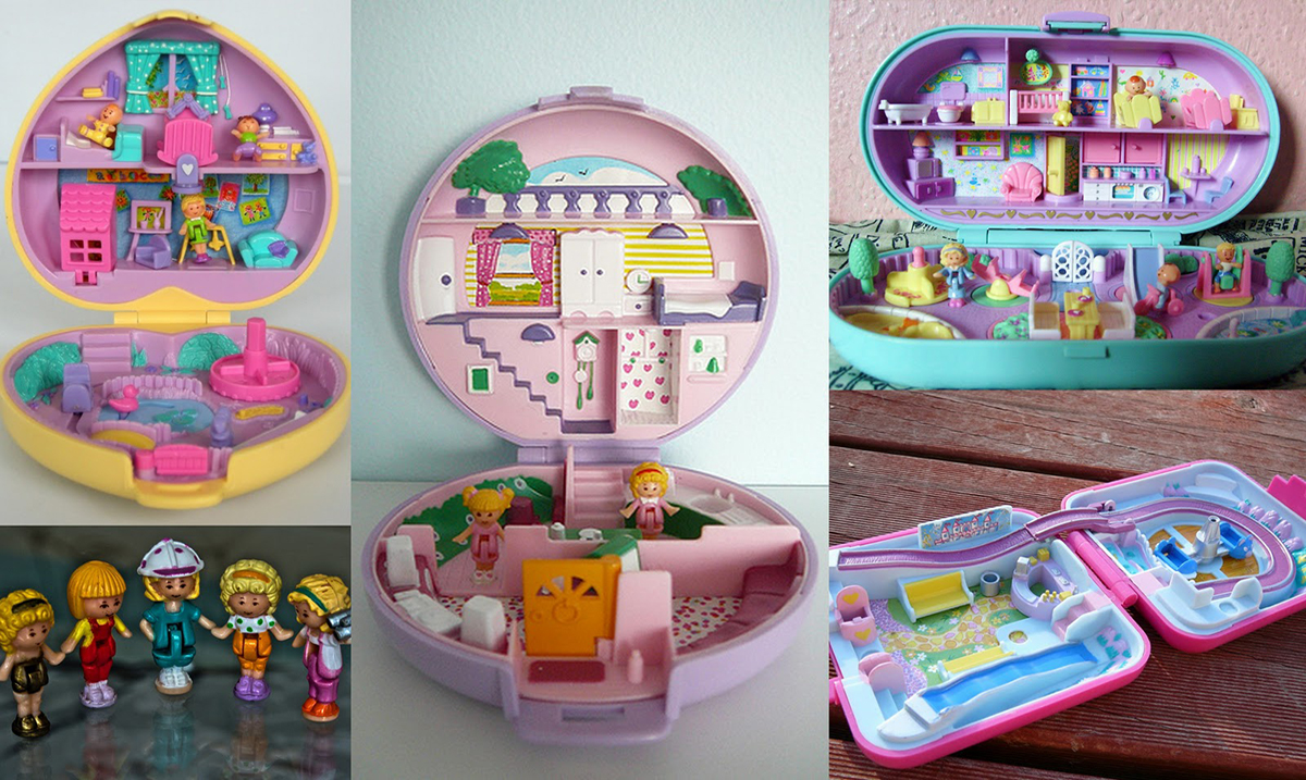 If You Still Have Your Childhood Polly Pocket Toys They Could Be Worth Thousands!