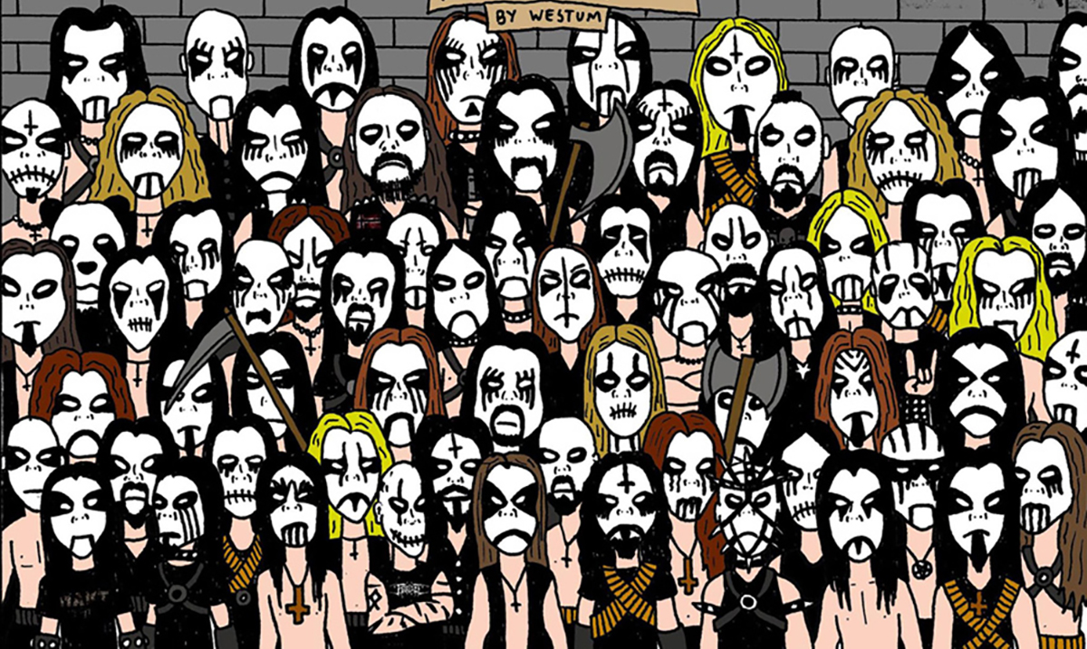 Can You Spot the Panda In the Black Metal Crowd? It's Harder Than You Think!