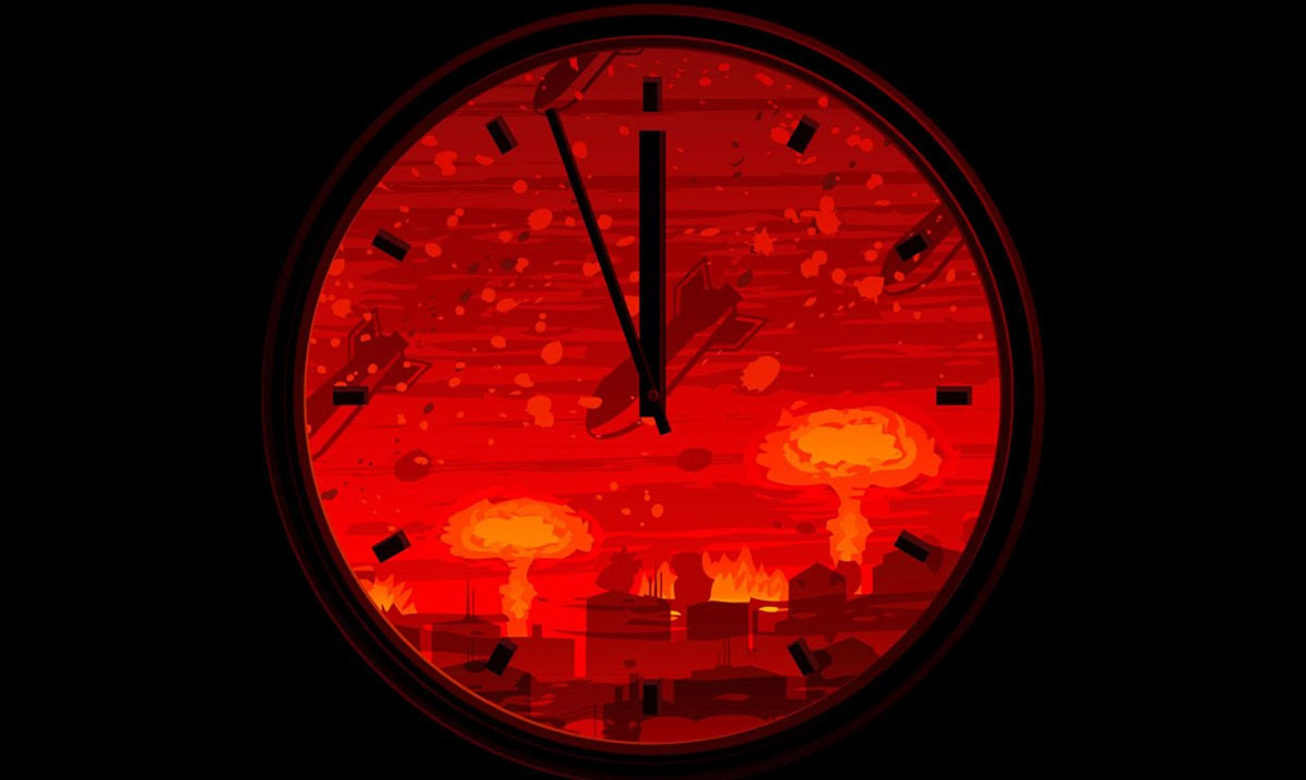 Doomsday Clock Now Set for 2 Minutes to Midnight