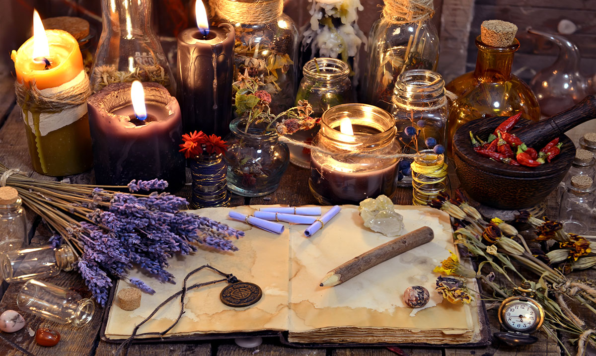 How to Use Traditional Folk Magic to Attract Prosperity, True Love, And Healing Into Your Life