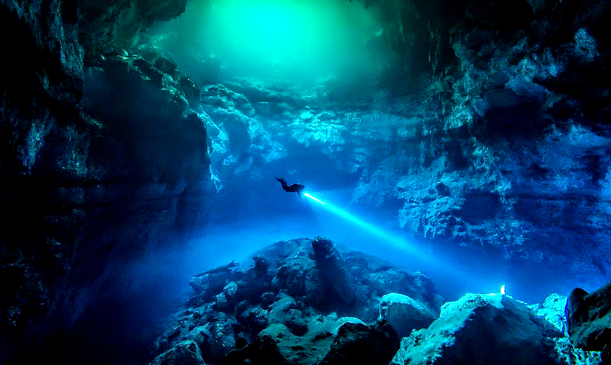 Largest Underwater Cave Ever Discovered by Divers – Mysterious Mayan Secrets Found Within
