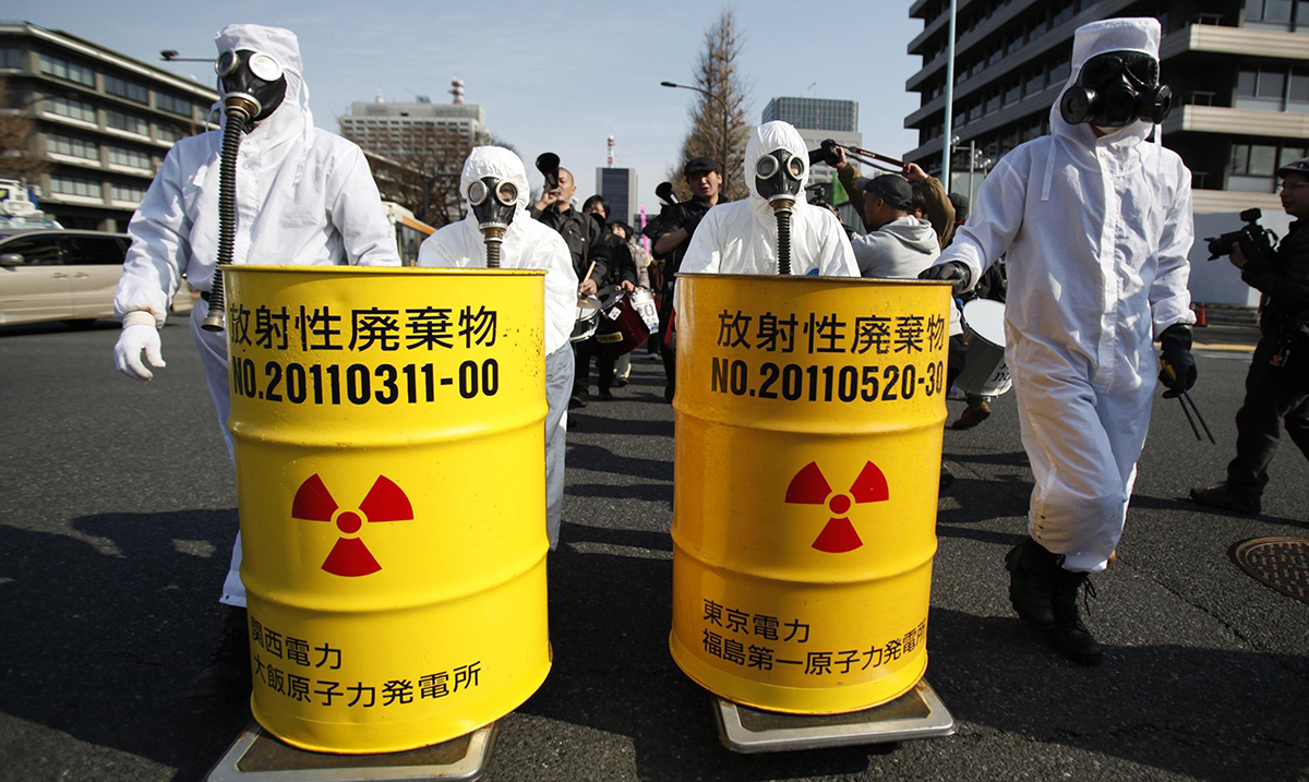 Fukushima Cleanup to Include Dropping Over 770,000 Tons of Radioactive Waste Into the Pacific Ocean