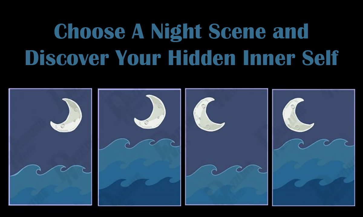 Choose A Night Scene and Discover Your Hidden Personality