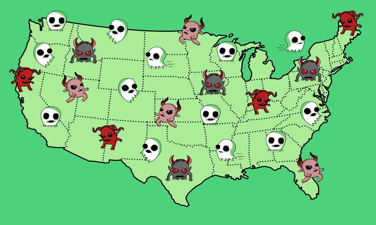 This Is The Scariest Urban Legend From Every State