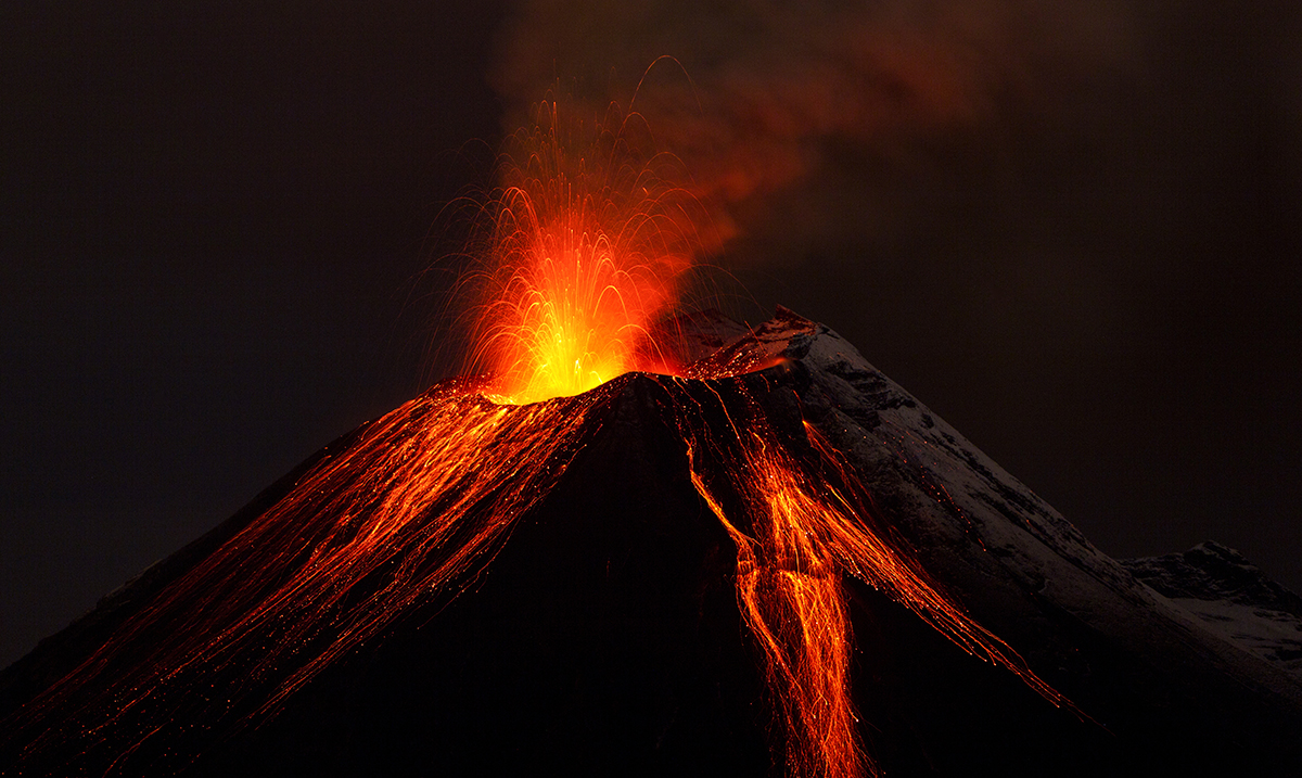 vulkan bilder