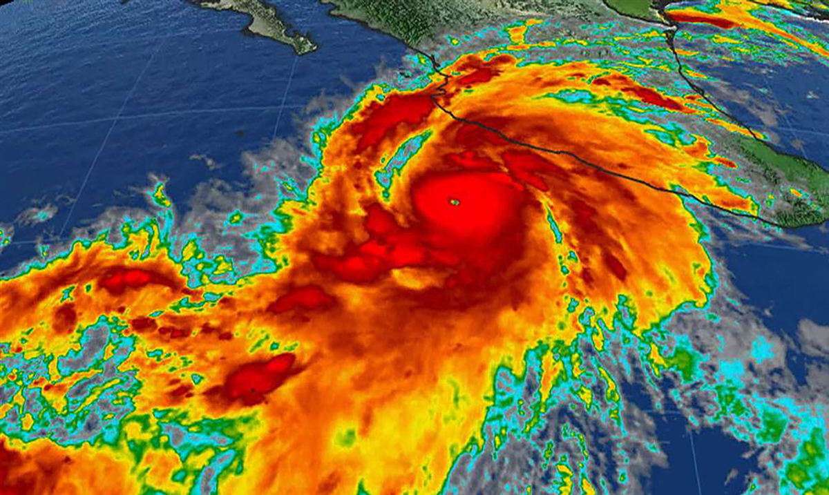 Hurricane Patricia's Lightning Fired A Beam Of Antimatter Down To Earth