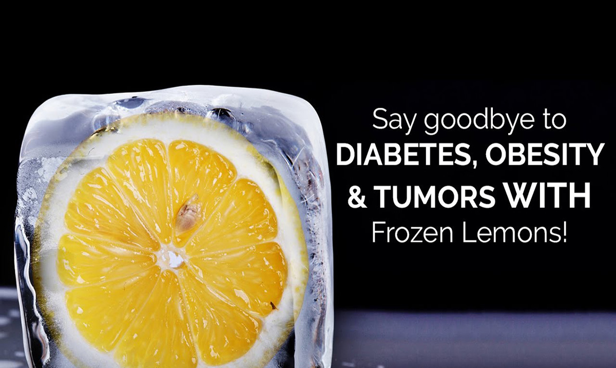 How Frozen Lemons Can Fight Against Obesity, Cancer, Diabetes, And More