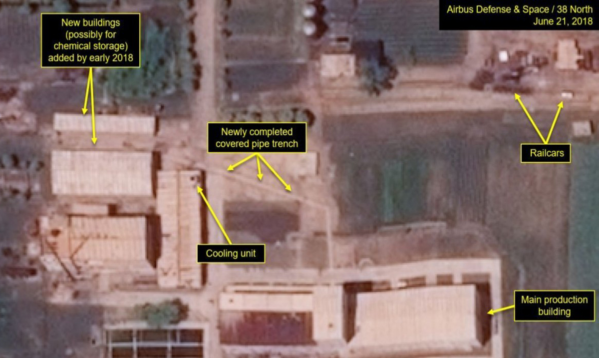Satellite Images Indicate North Korea is Making Upgrades to Their Nuclear Plant