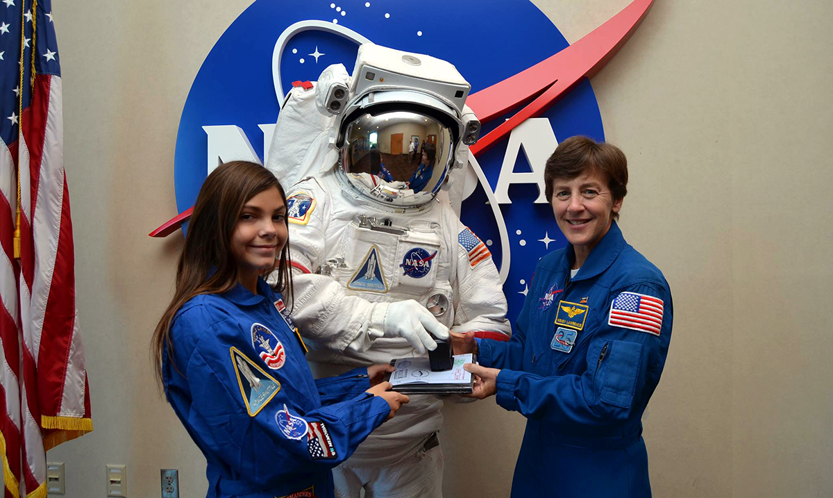 NASA is preparing a 17-year-old girl for a flight to Mars