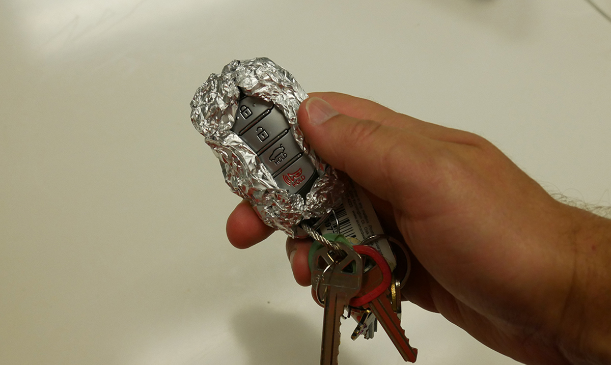 Why You Should Be Wrapping Your Car Keys in Aluminum Foil