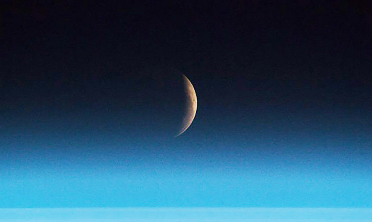 Astronauts Capture Breathtaking Photographs of July's Blood Moon From Outer Space