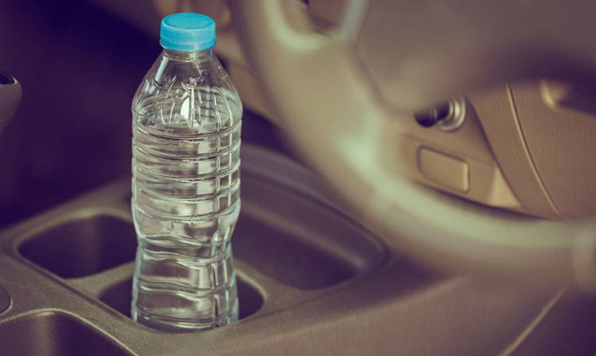 You May Want to Rethink Leaving That Bottled Water In Your Hot Car