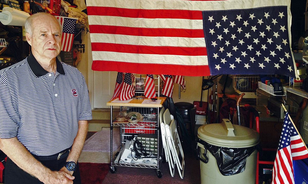 Veteran's Neighbors Forced Him to Move After He Refused to Remove His Flag