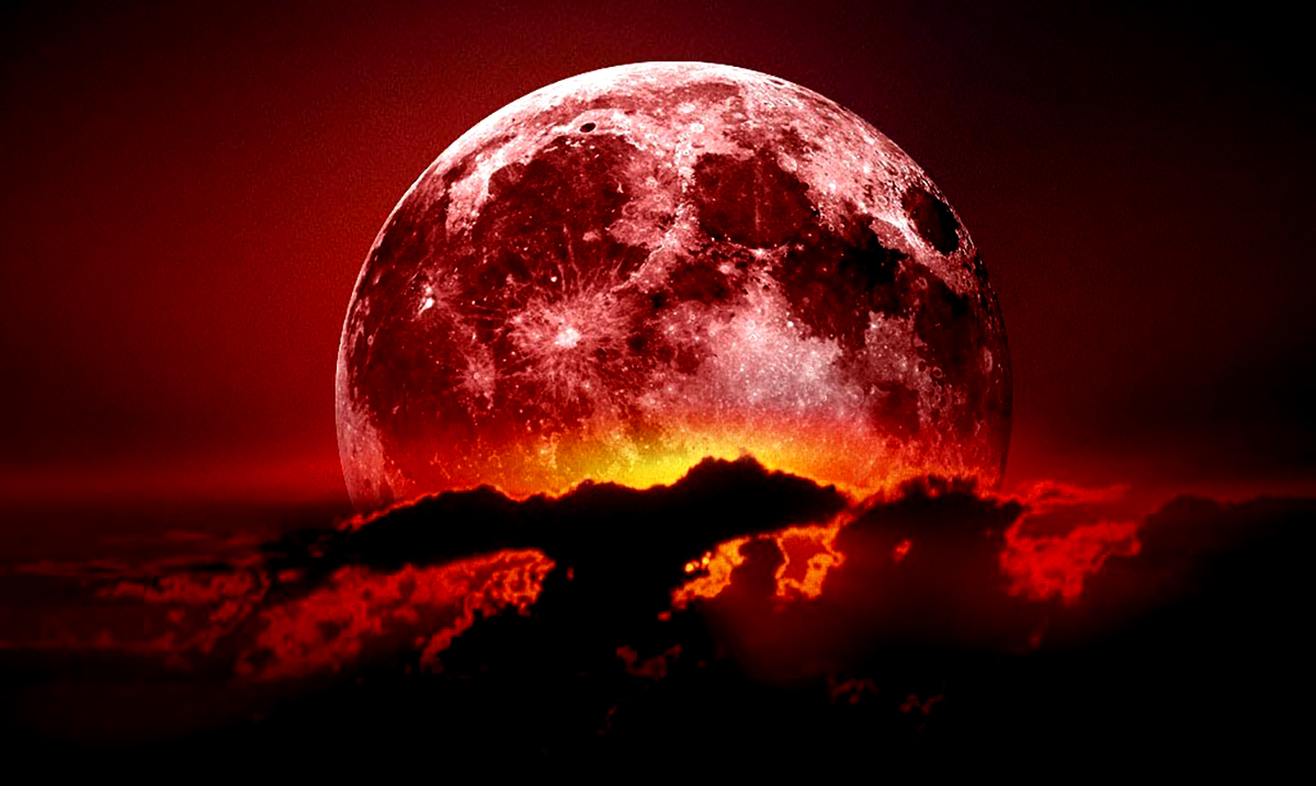 Prepare Yourself For A Massive Energy Shift As The Longest Lunar Eclipse Of The Century Combines With A Blood Moon
