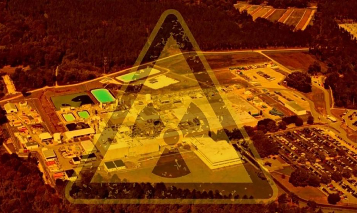 Nuclear Fuel Factory in South Carolina is Leaking Radioactive Uranium