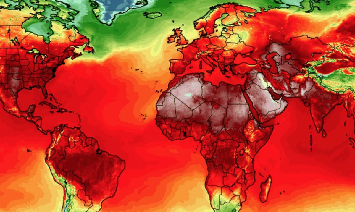 All-Time Heat Records Are Being Broken as Planetwide Heatwave Continues
