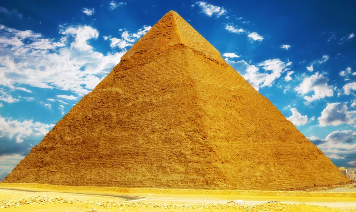 The Great Pyramid of Giza Has the Potential to Focus Electromagnetic Energy Within Its Chambers