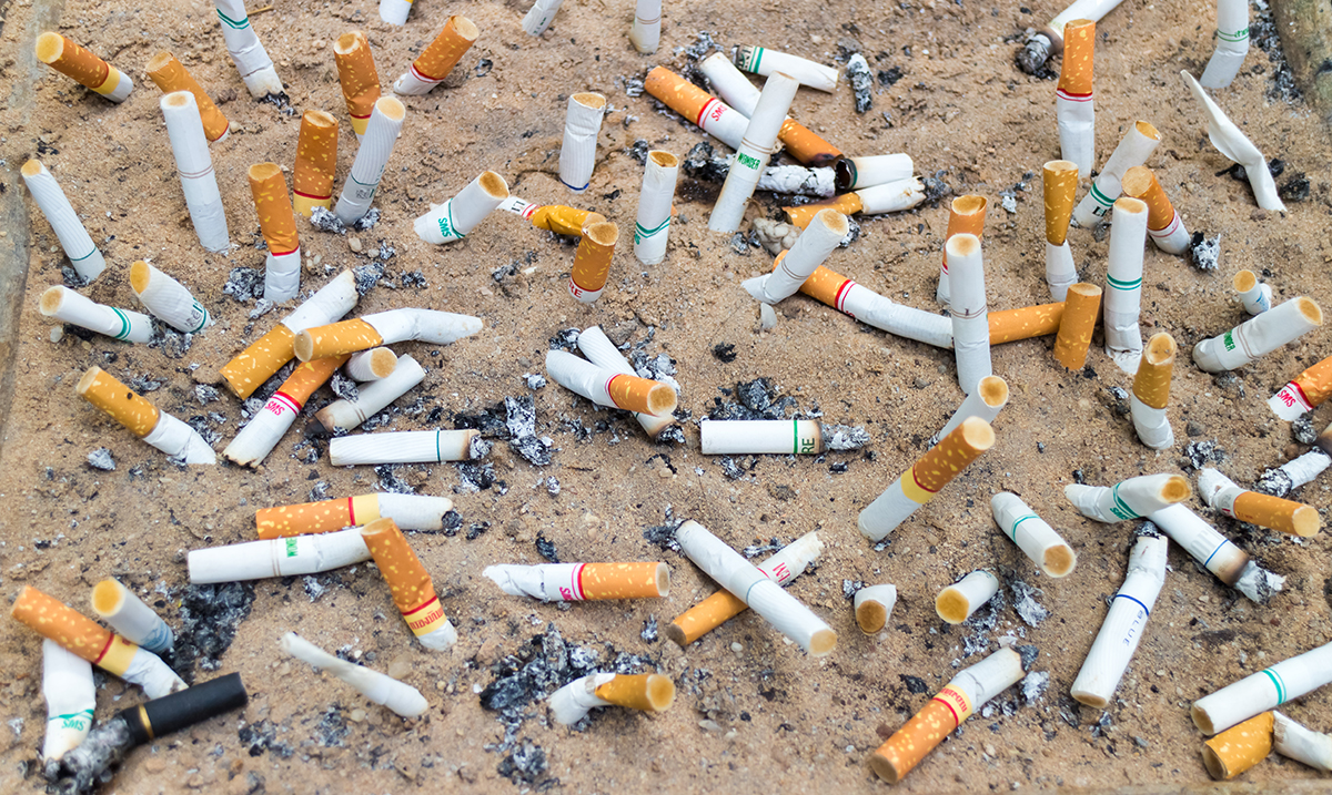 Cigarette Butts Are A Greater Source of Pollution Than Plastic Straws
