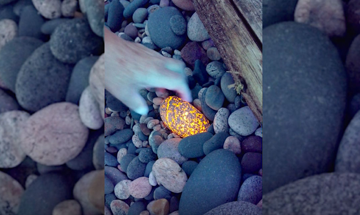 New Form of Luminescent Rock Was Recently Discovered on the Shores of Michigan