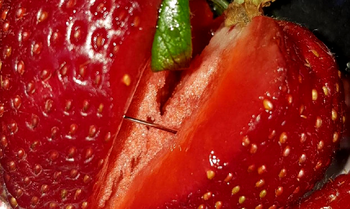 Australia's Needles In Strawberries Crisis Has Now Spread To Two More Countries