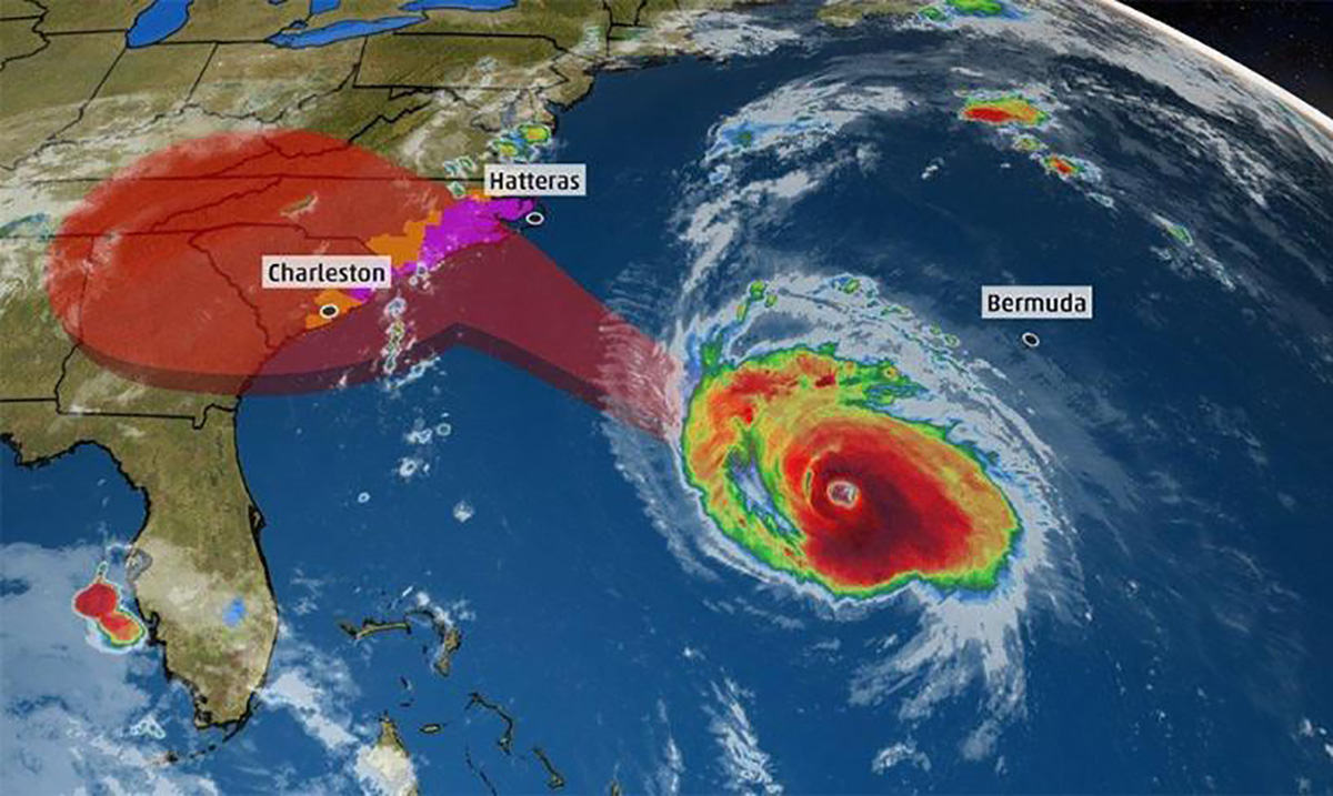 Hurricane Florence Could Be the Strongest Storm to Hit Landfall North of Florida