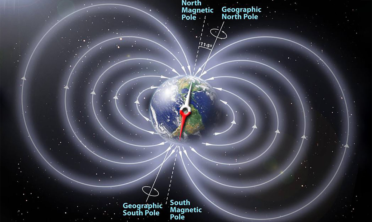 Earth's Magnetic Field Is Collapsing And The Poles Are About To Switch