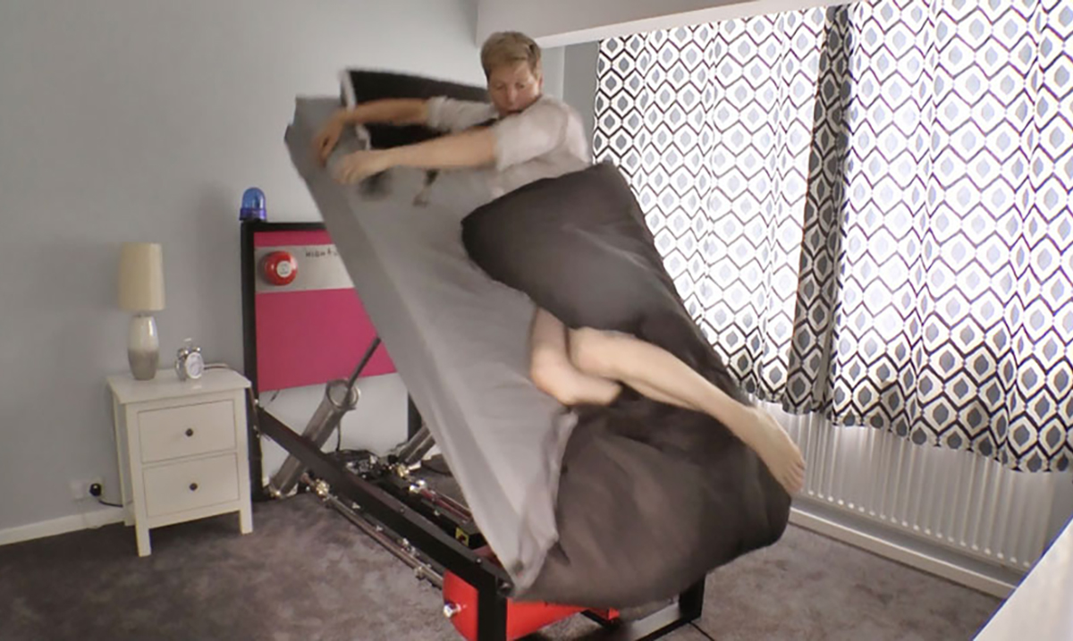 If You Struggle With Getting Up in the Morning, Then You Need the High-Voltage Ejector Bed