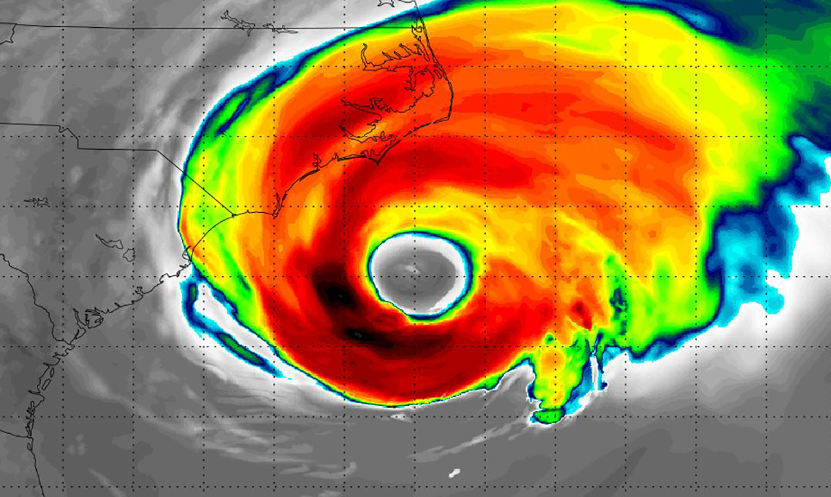Extreme Tropical Weather Has Now Begun Raging Against the East Coast