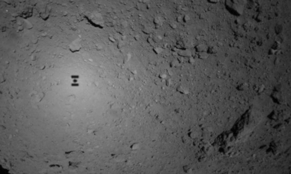 We Just Got the First Photographs That Have Ever Been Taken of the Surface of an Asteroid