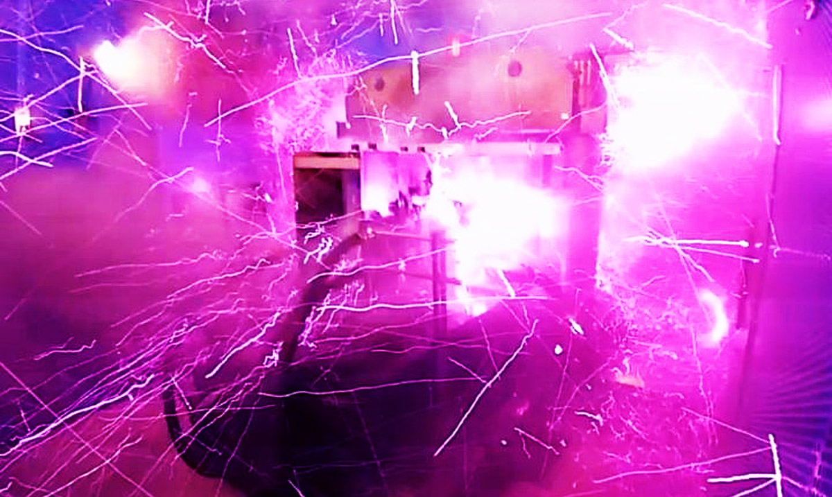 Watch As Scientists Blow Up Their Lab With The Strongest Indoor Magnetic Field Ever