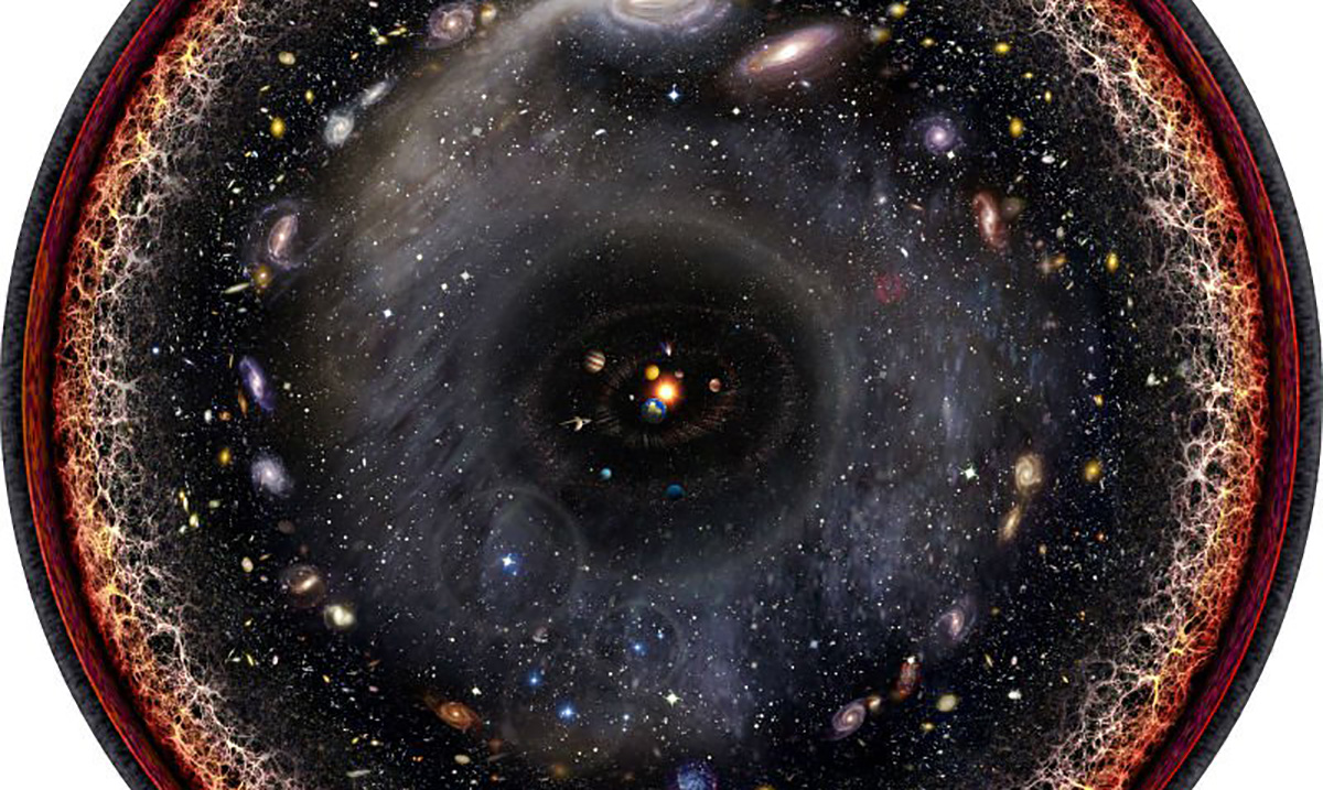Amazing Artist Put The Entire Universe Into A Single Image, And I Have Never Felt So Small