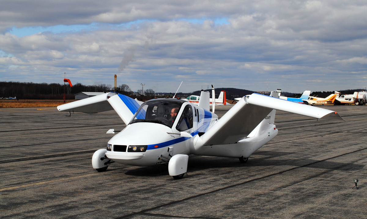 World's First Flying Car Will Go On Sale Next Month!