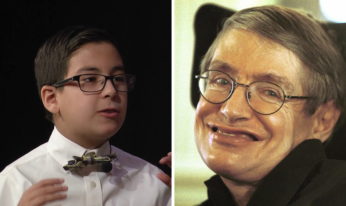 11-Year-Old Genius Claims He Can 'Prove Steven Hawking Was Wrong'