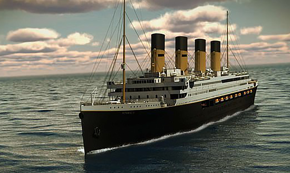 A Replica of the Titanic Is Going to Set Sail In 2022