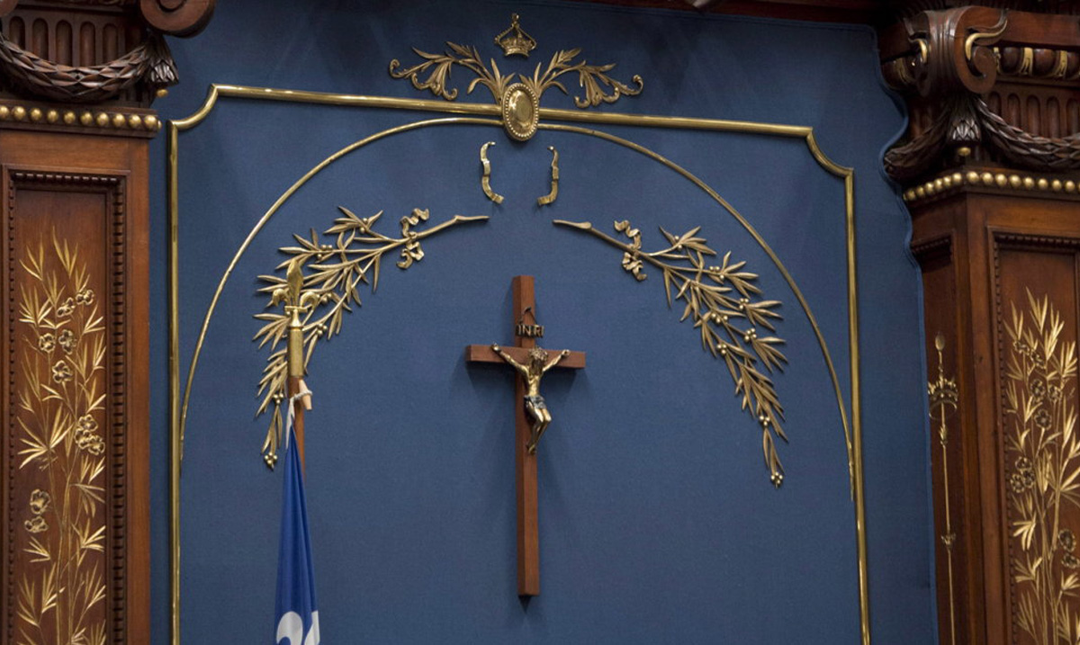 Quebec's Incoming Premier Says The Crucifix Is Not A Religious Symbol