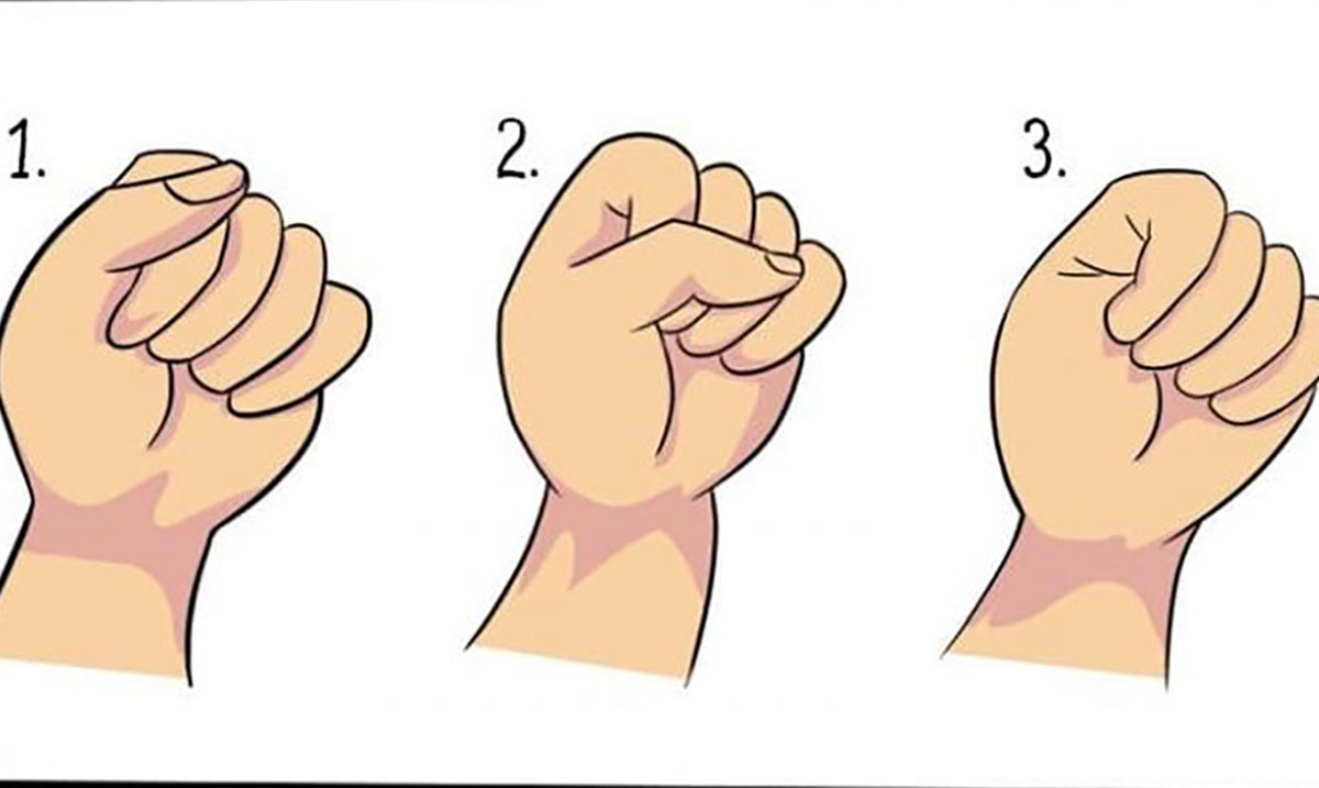 The Way You Make A Fist Can Reveal A Lot About Your Personality