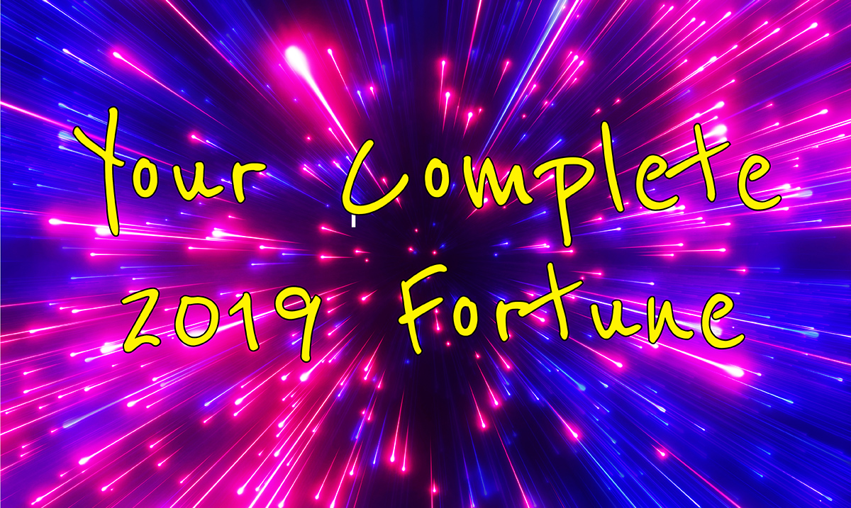 Your Complete 2019 Fortune, According to the Zodiac